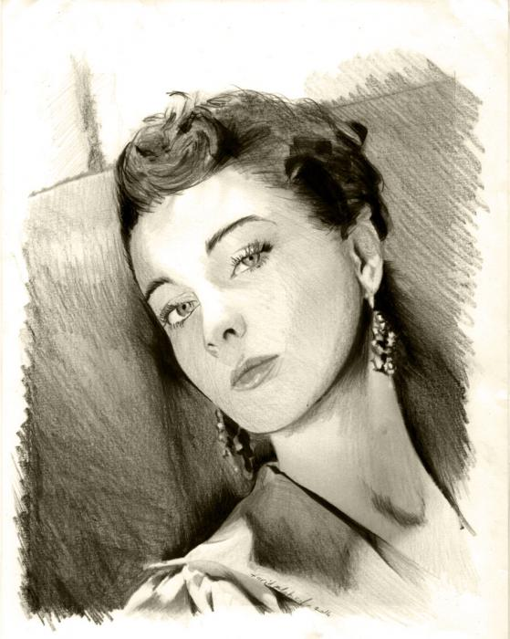 Vivien Leigh by Colorfarma